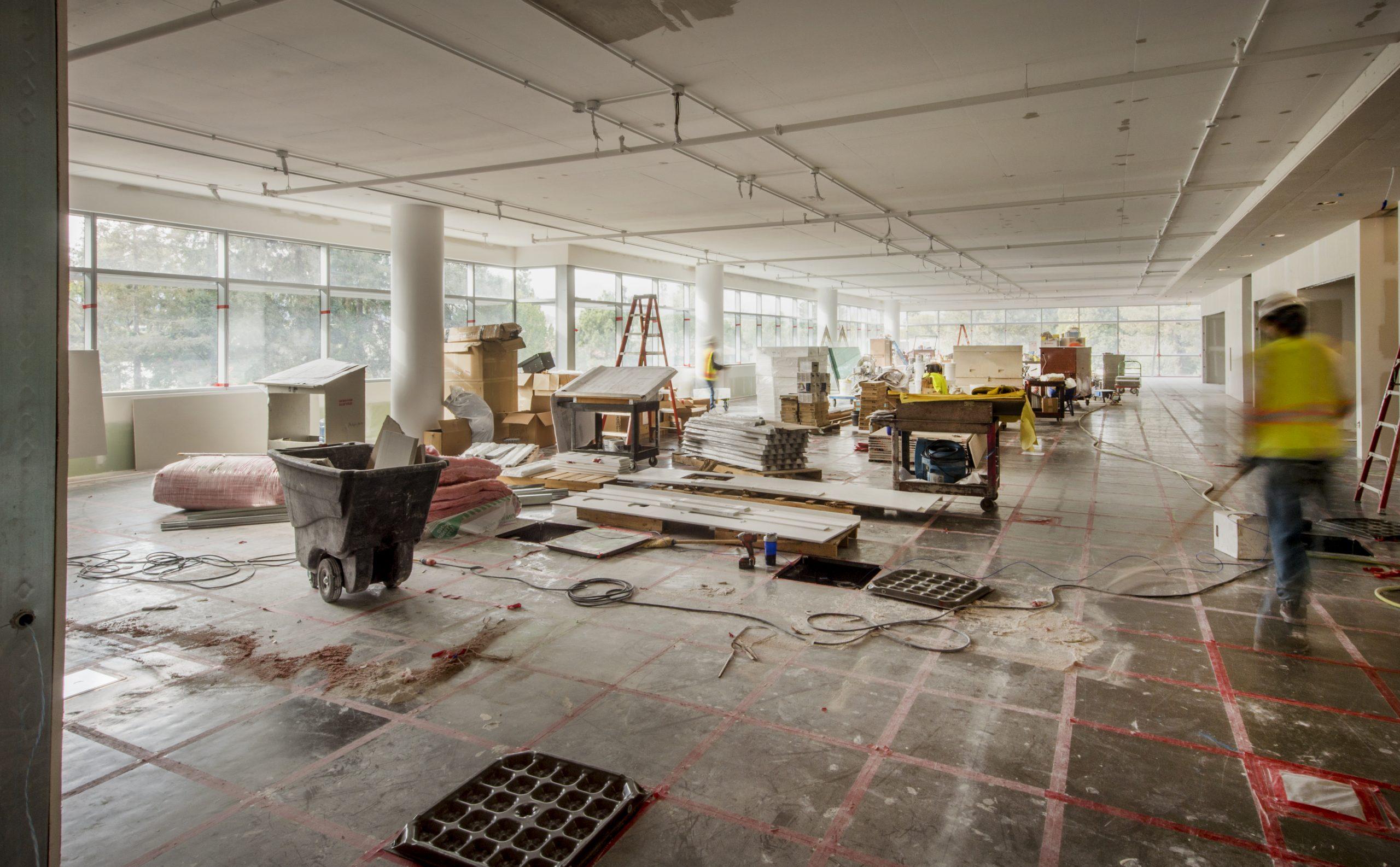 Výstavba interiéru