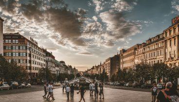 Prague 1 Wenceslass Square