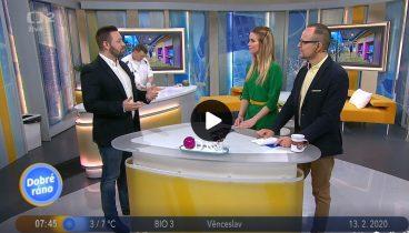Radek Procházka v České televizi