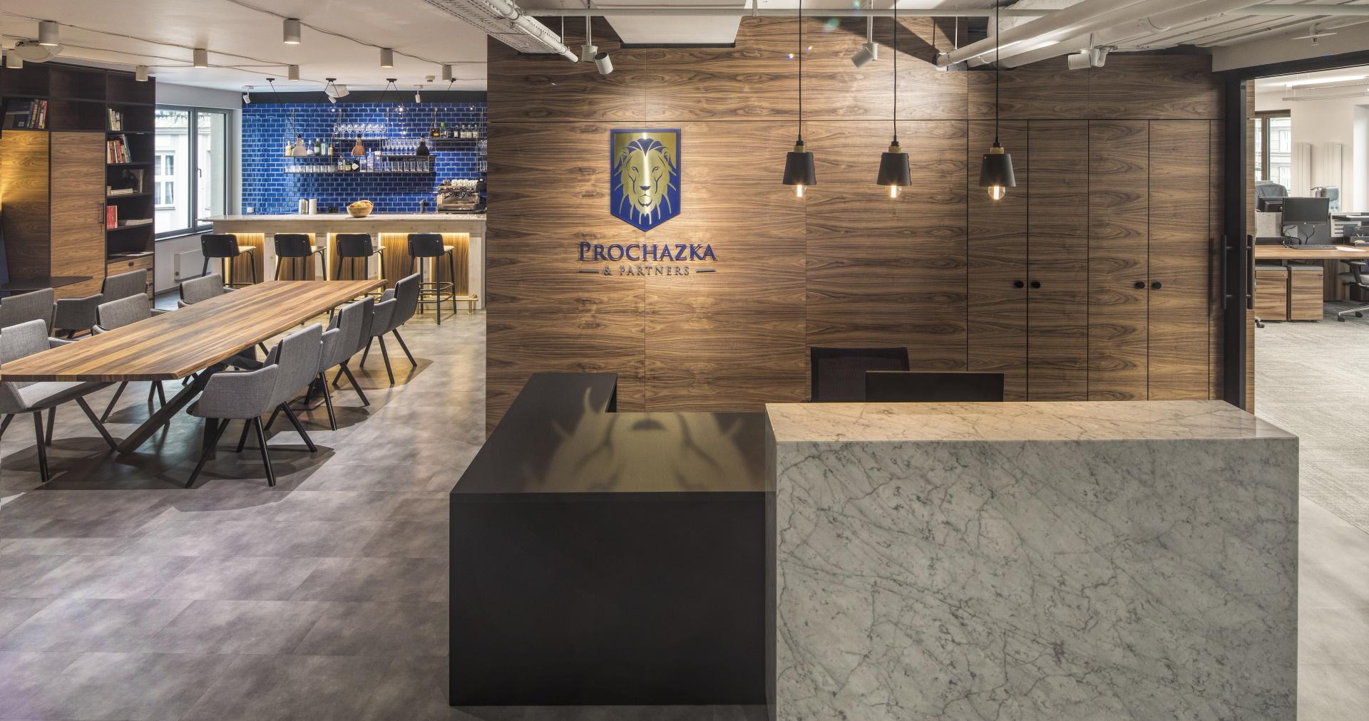 Recepce společnosti Prochazka & Partners