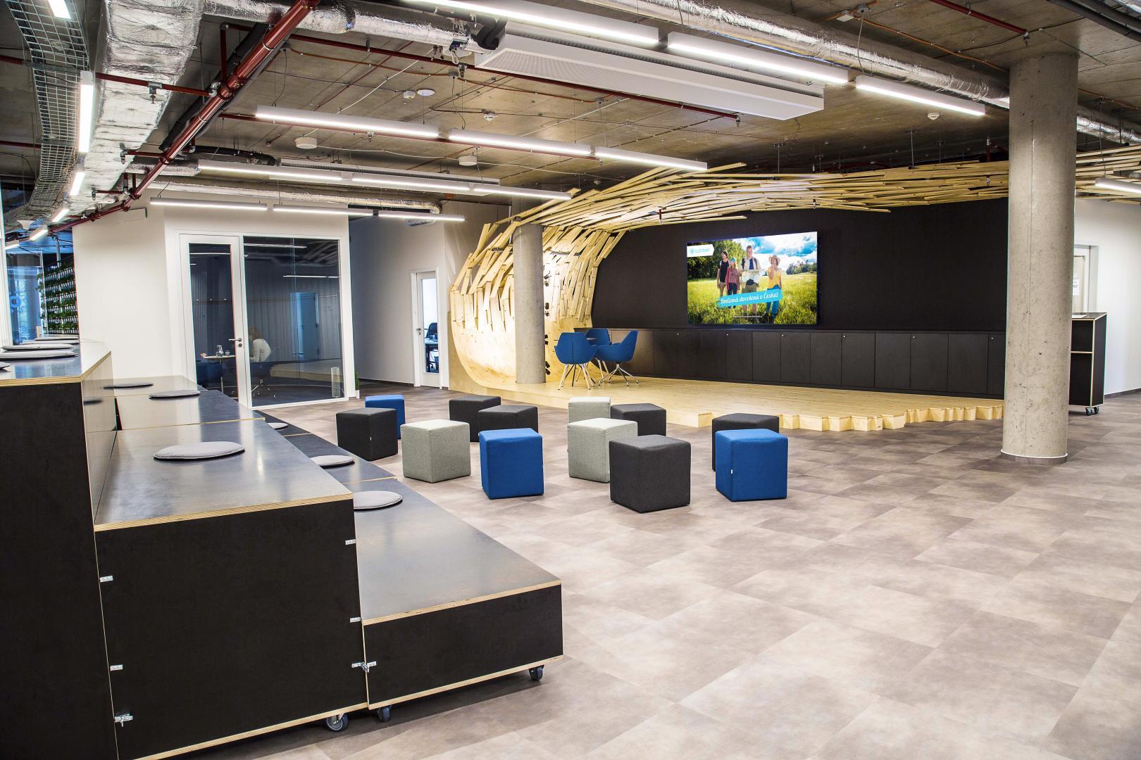 Nové kanceláře Slevomat